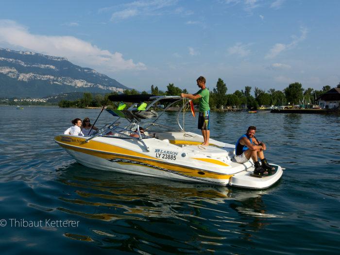 Location bateau : Senza - Lac du bourget