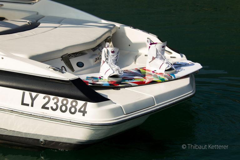 Location bateau LXI 208 lac du Bourget